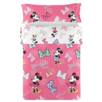 BCF Funda Nórdica Reversible 2 Piezas Sweet Minnie