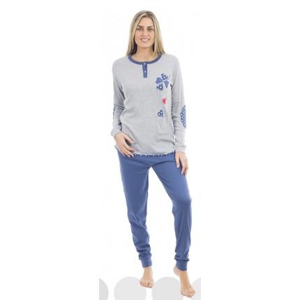 Pijama gris Muslher