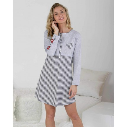 Camisola mujer Gris P717212...