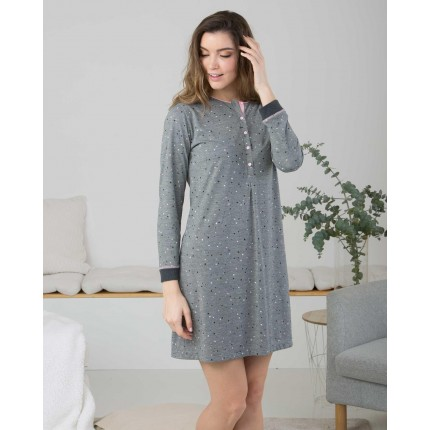 Camisola mujer Gris...