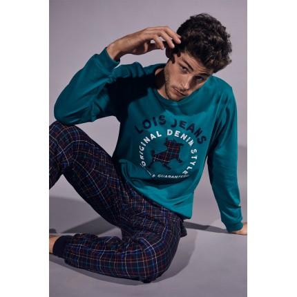 Pijama Hombre 55373 Verde Lois