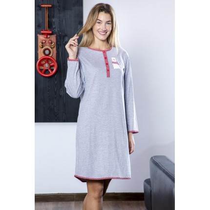 Camisola mujer 217605 Gris Muslher