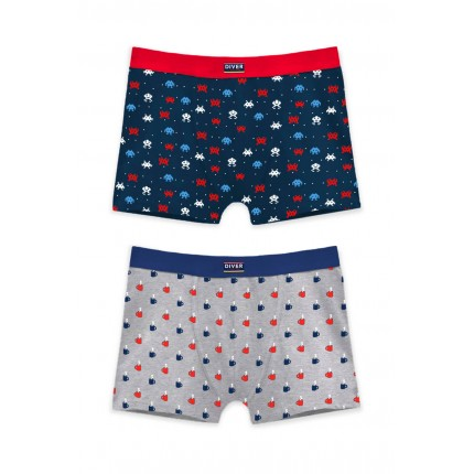 Pack 2 Boxers 48288 Diver