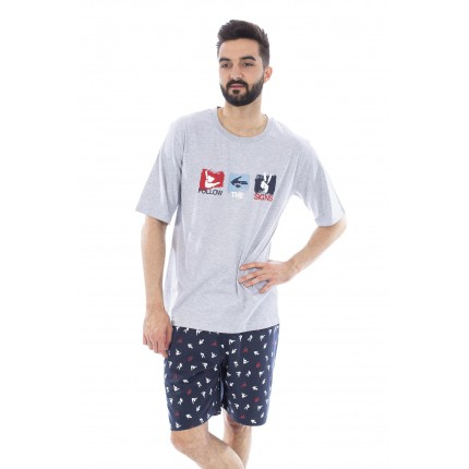 Pijama 205028 Muslher